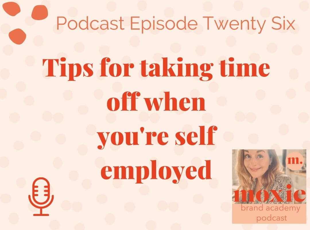 Tips for taking time when you're self-employed
