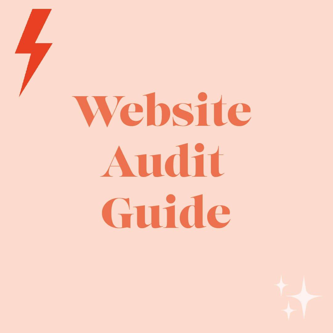 Website Audit Plaque