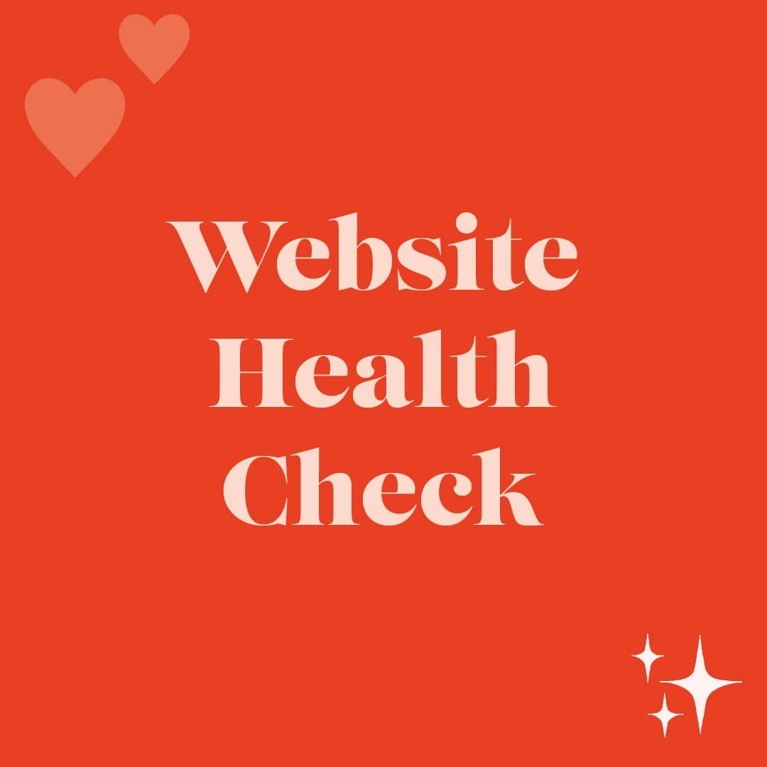 Website health Plaque